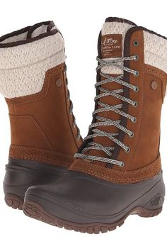 The North Face Shellista II Mid (Dachshund Brown/Demitasse Brown) Women's Cold Weather Boots - The North Face, Shellista II Mid, CVX2T4L-200, Footwear Boot Cold Weather, Cold Weather, Boot, Footwear, Shoes, Gift, - Street Fashion And Style Ideas