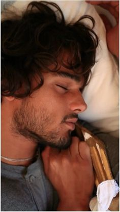 Landon Lucas Maxfield asleep in the pantry in Easy and Breakable by Tammara Webber (Marlon Teixeira)