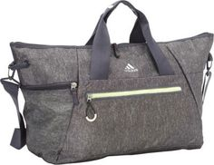 3142764518 adidas Studio Duffel Heather Granite Clear Grey Night Flash Frozen Yell -  via eBags.com!