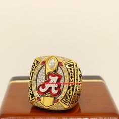 2015 Alabama Crimson Tide NCAA National Championship Rings