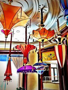 Ceiling Parisols - Wynn Las Vegas
