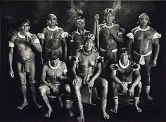 © Sebastiao Salgado - Group Portrait of all of the Kamayura Shamans, High Xingu, Mato Grosso State, Brazil, Xingu, Berenice Abbott, Concours Photo, Indigenous Tribes, Documentary Photographers, Expositions, Ansel Adams, Magnum Photos, Guys Be Like