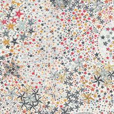 Tissu Liberty Adelajda Multicolorepour les créations sur mesure Milie Dots: couverture bebe, tour de lit, boutis, gigoteuse, édredon en laine, tapis d'éveil et tapis de chambre, etc