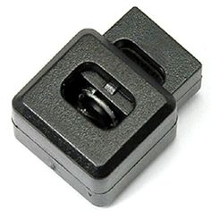 FMS Square Block Cord Lock Plastic Spring Stop Cube Toggle Stoppers 25 PackBlack >>> Want to know more, click on the image.Note:It is affiliate link to Amazon.