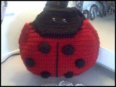 Ladybug Backpack Crochet Pattern #DIY