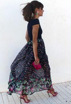 Invitada en negro, total black look … ¿sí o no?