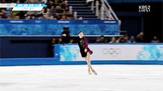 Kim Yuna Ladies' Free Program Sochi 2014 GIF