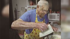 Leo Kellner, 98, gives back to his community by baking pies and cakes filled with love.