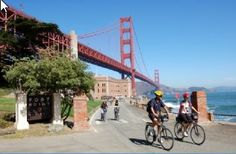 City of San Francisco by bike at www.bajabikes.eu