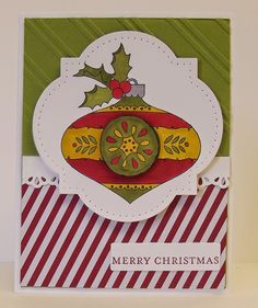Christmas Bauble,Blendabilities, Stampin' Up