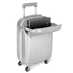 The TSA Friendly Laptop Carryon. from Hammacher Schlemmer on Catalog Spree, my personal digital mall. Best Luggage, Carry On Luggage, Luggage Sets, Carry On Bag, Travel Luggage, Travel Bags, Airport Luggage, Suitcase Packing, Travel Gifts