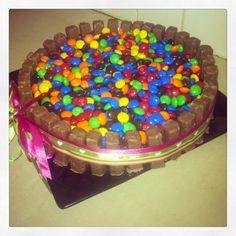 Birthday cake,, chocolate overload