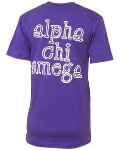 Alpha Chi Omega Lyre V-neck