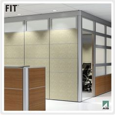 New AIS (Affordable Interior Systems) Cubicles FIT Floor to Ceiling Walls192-8000645 | Office Furnitur...