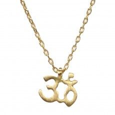 Marian Maurer Om necklace from Fragments NYC, my absolute favorite jewelry store!