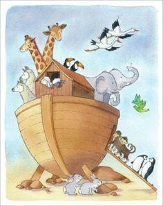 Mikki Butterley - Bible. Noahs Ark