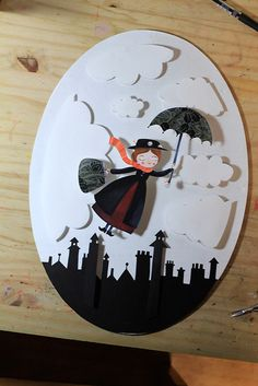 Mary Poppins on Behance