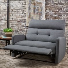Shop for Halima Fabric Recliner Club Chair by Christopher Knight Home. Get free delivery On EVERYTHING* Overstock - Your Online Furniture Shop! Get in rewards with Club O! Oversized Chaise Lounge, Oversized Recliner, Chair Fabric, Chair Cushions, Living Room Chairs, Living Room Furniture, Dining Room, Cabin Furniture, Plywood Furniture