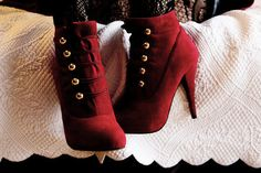 every girl needs a pair of red shoes