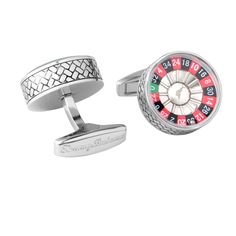Tommy Bahama Spinning Roulette Wheel with Ball cufflinks. $100 on our website.   #vegas #gambling #fun #jewelry #MensFashion #style #menswear #fashion #shopping