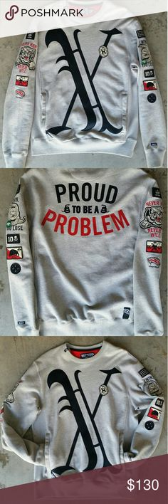 Sweatshirt 10 Deep Proud To Be A Problem 10.Deep Sweaters Crewneck