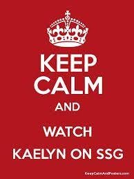 I love watching Kaelyn