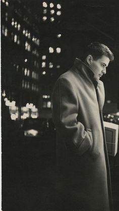 Maurice Sendak, in his 20s, in New York City.  Photo courtesy of Maurice Sendak. Used by permission of Maurice Sendak