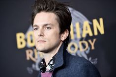 """Dallon Weekes attends """"Bohemian Rhapsody"""" New York Premiere at The. The Brobecks, Dallon Weekes, Daddy Long, How To Play Drums, Panic! At The Disco, Tall Guys, Paramore, I Don T Know, My Love"""