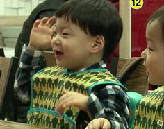 Manse's cute dance before meal time | The Return of Superman