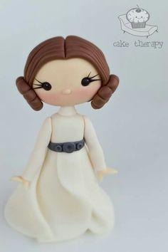 Princess Leia by Cake Therapy