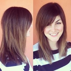 Soft Ombre, long bob & side bangs -- By Taylor Nick, William Edge Salon, Nashville, TN