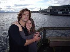Awwww, Jared w/ his sister