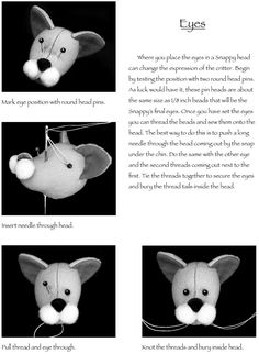 Dover Publications Snappy Critters: Easy-to-Make Plush Toys