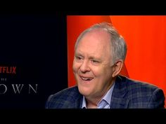 Actor John Lithgow discusses the vocal characterization of his portrayal of Sir Winston Churchill in 'The Crown. New Netflix, Shows On Netflix, John Lithgow, Actor John, Winston Churchill, The Crown, Acting, How To Memorize Things, Interview