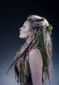 Titania the Lioness Warrior Hair and Makeup artist: Louise Ashton Photographer: Yassin Yassin Model: Amelia Clegg