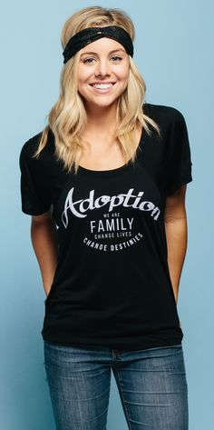 Adopting a child is not only a joy, but a gift. Both parents and children can experience the love and care of a complete family which will change their lives forever. Wear this design to support and celebrate those who make the ultimate commitment to change destinies every day. Adoption changes lives! #Sevenly
