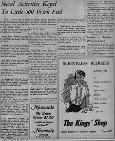 """""""May 10, 1952"""""""