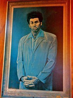 Kosmo Kramer portrait from Seinfeld- sven vik