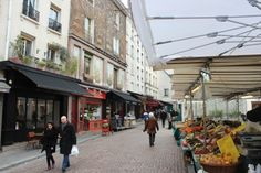 Marché Mouffetard | Rue Mouffetard 5e | Mar-Dim Matin