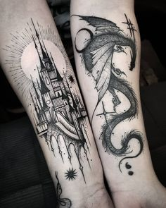 Best Sleeve Tattoos, Cute Tattoos, Beautiful Tattoos, Body Art Tattoos, Tattoos For Guys, Tattoos For Women, Portrait Tattoos, Tattoo Guys, Arabic Tattoos