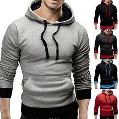 Schwarz, Herrenpullover, Pullover Pullover, Sport-hoodies, Kapuzenpullover,  Anzüge a3ea79dac5