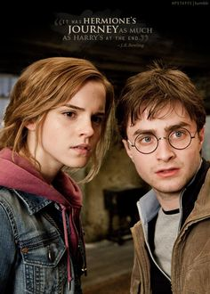 Harry & Hermione. I have to admit they would be cute as a couple...but I like Ron and Hermione MUCH better