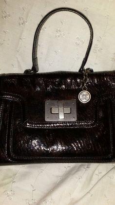 "Vera Wang Black ""Simpy Vera"" Nicky Bag Purse Handbag (Square) #23 #VeraWang #AllOccassionDressyorCasual"