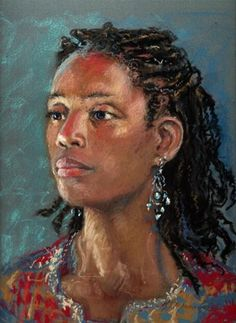 """""""Woman With Colors 2"""" by Diane Mannion"""