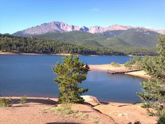 Crystal Reservoir Pikes Peak Highway