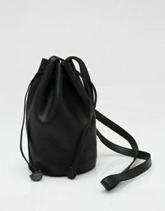 Baggu: Drawstring Purse In Black: PERFECT.