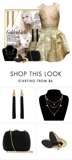 """Inspiração capa de revista"" by anyka-silva on Polyvore featuring moda, Yves Saint Laurent, Serpui e Michael Antonio"