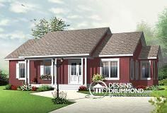 Eplans country house plan two bedroom country 870 for Maison eplans