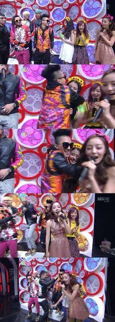 [TV / MOVIES] 120311 SBS Inkigayo Goo Hara, IU and Jung Nicole MC Cuts (English Subs) ~ mykpopnote