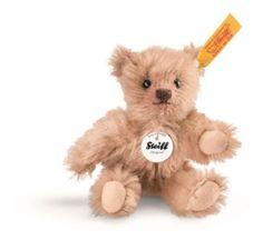 Steiff-040290-Mini-Teddybaer-Mohair-rotbraun-10-cm